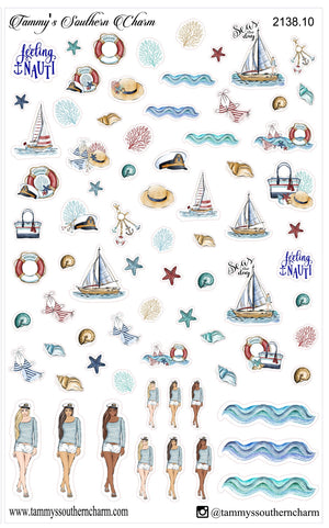 2138 - NAUTICAL DREAMS (CHOICE OF PAGES OR FULL KIT)