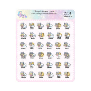 2201H - WEATHER GIRL TAMMY (BLONDE HAIR) - HOBONICHI SIZE
