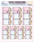 2262 - STICKER NOTES - FOLD OVER STICKERS