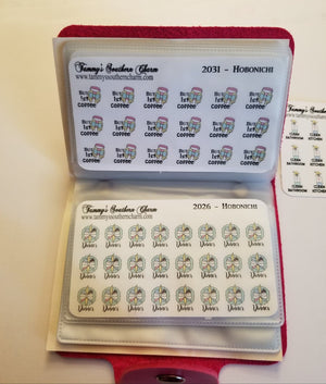 (2044 to 2053) MINI ICONS - HOBONICHI - CHOICE OF: SEE BELOW