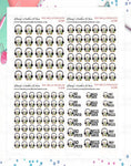 1620P - PAY BILLS PENGUIN - MINI SHEETS (INSTANT DOWNLOAD)
