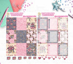 1954P - DIGITAL PLANNER BOX - COMPLETE SET - VALENTINE'S GIRLS