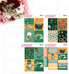 1959P - ST. PATRICK'S DAY GIRLS - MINI SHEETS (INSTANT DOWNLOAD)