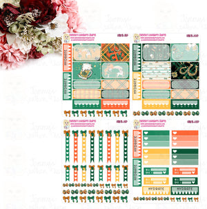 1959 - ST. PATRICK'S DAY GIRLS - MINI SHEETS