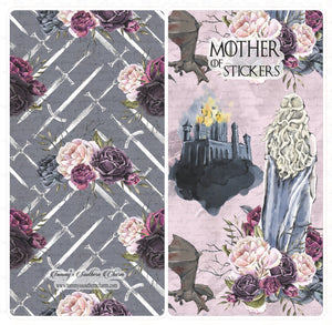 2153B - MOTHER OF STICKERS (THRONE GAMES) STICKER POUCH BUNDLE