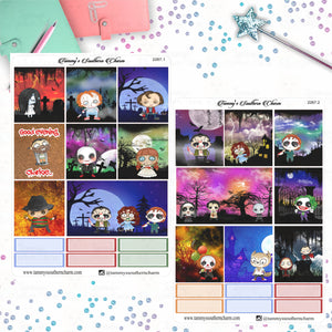 2267 - CUTE HALLOWEEN MONSTERS (CHOICE OF PAGES OR FULL KIT)
