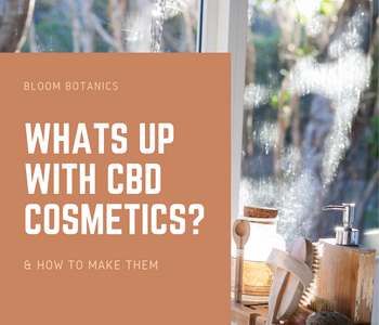 Why Are CBD Cosmetics Becoming So Popular? + How To Make Them!