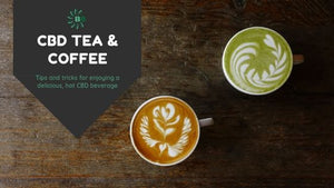 Adding CBD to your Tea & Coffee