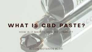 What is CBD Paste and How Do I Take It?