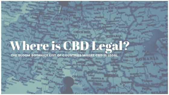 Where is CBD Legal? | List of Countries that Allow the Sale of CBD