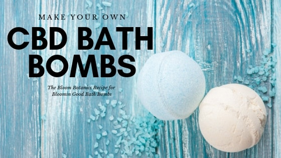 Make Your Own CBD Bath Bombs