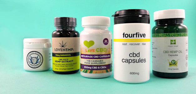 CBD Capsules and Tablets