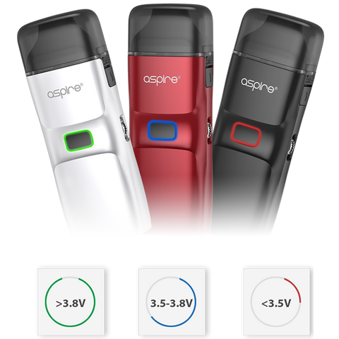 Aspire Breeze NXT Battery Charge