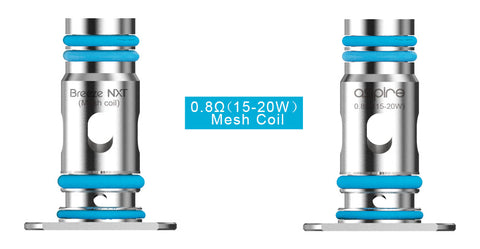 Aspire Breeze NXT mesh coils