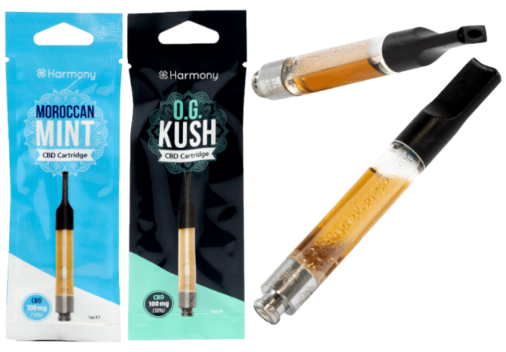 Harmony CBD Vape cartridge UK