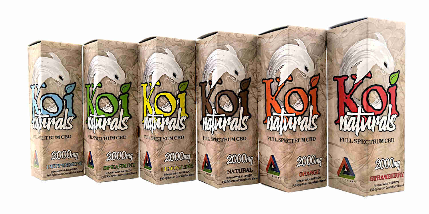 Koi Naturals All flavours UK