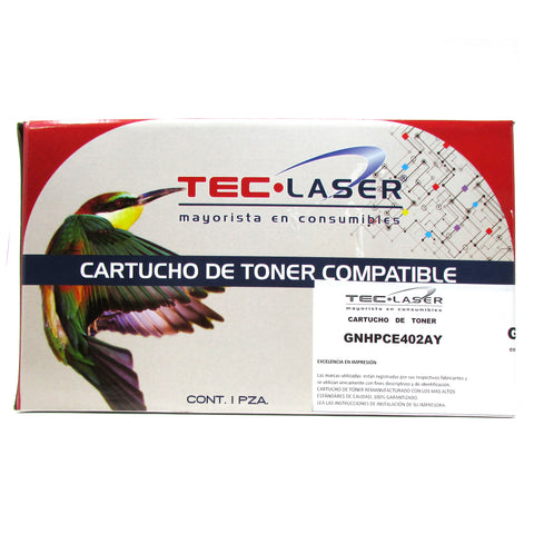 Cartucho de Toner generico compatible con HP 507A, YELLOW