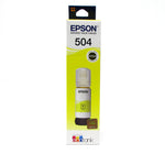 Botella de Tinta Original EPSON 504 YELLOW