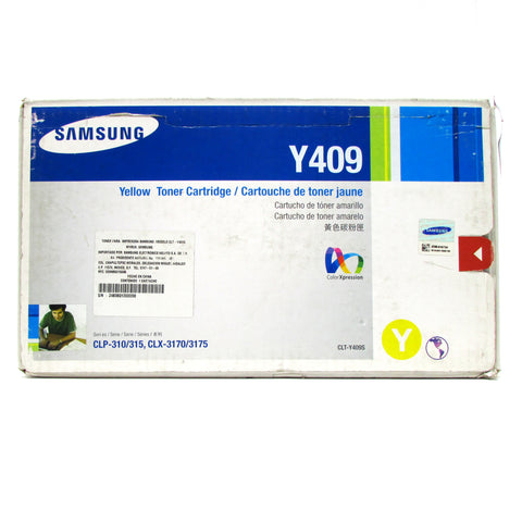 Cartucho DE TONER ORIGINAL SAMSUNG Y409 YELLOW