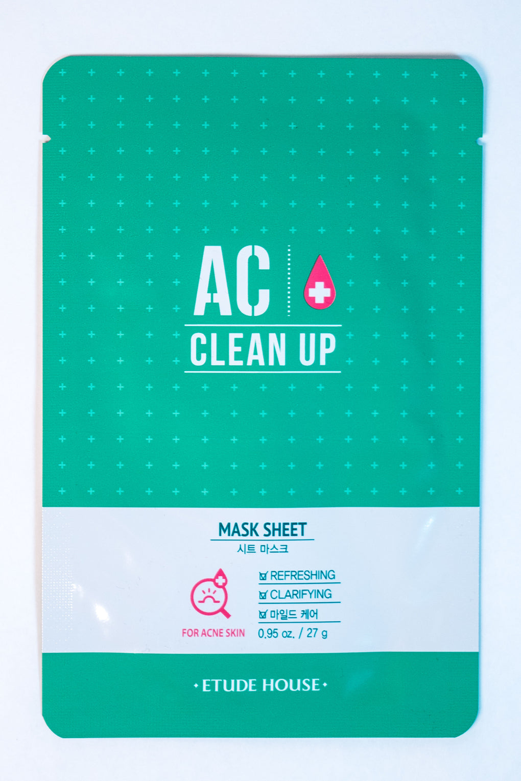 AC CLEAN UP ANTI ACNE SHEET MASK