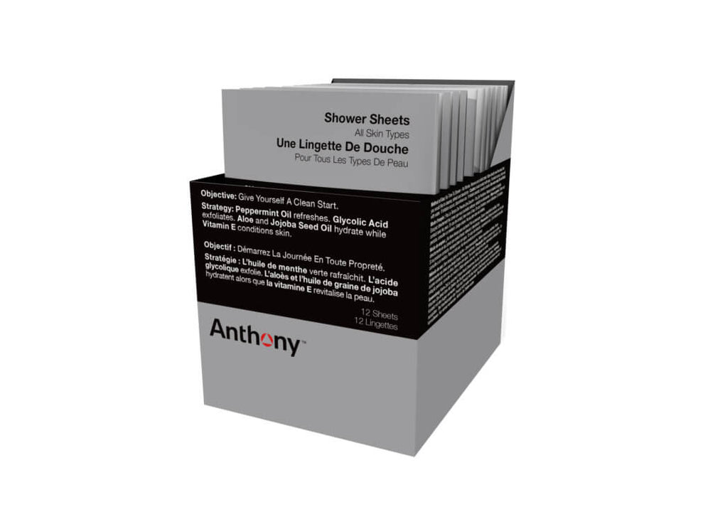 ANTHONY SHOWER SHEETS WIPES