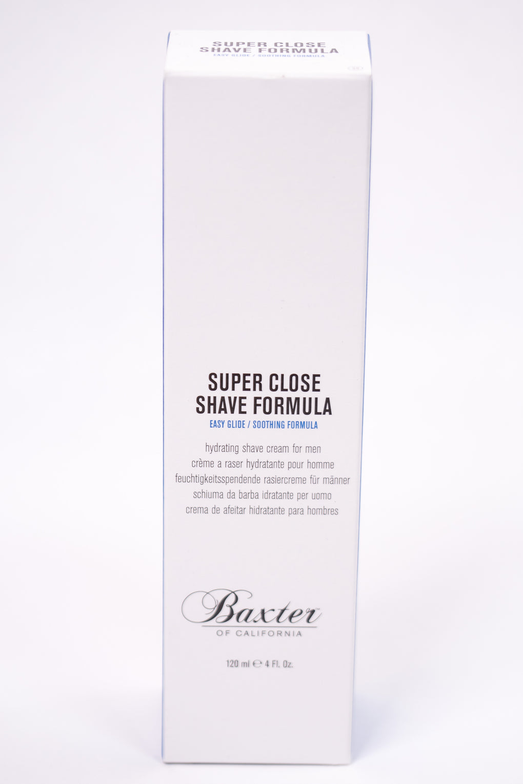 BAXTER SUPER CLOSE SOOTHING SHAVE 4OZ