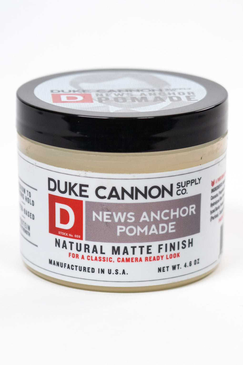 Duke Cannon News Anchor Pomade at Consigliere