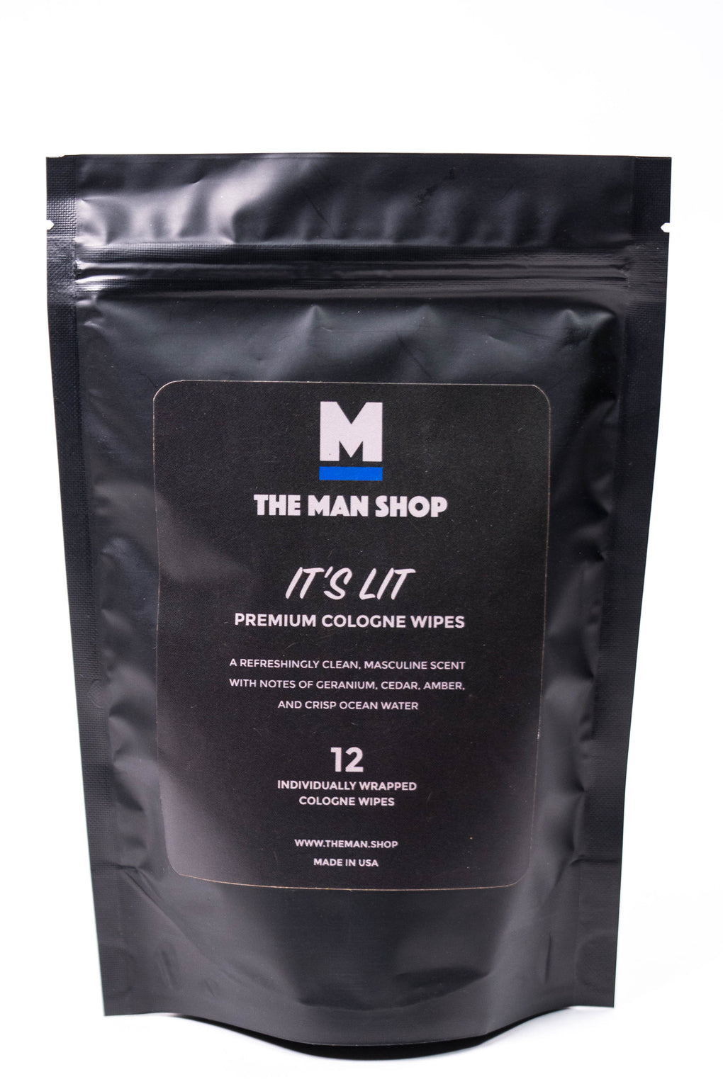 The Man Shop It's Lit Cologne Wipes at Consigliere