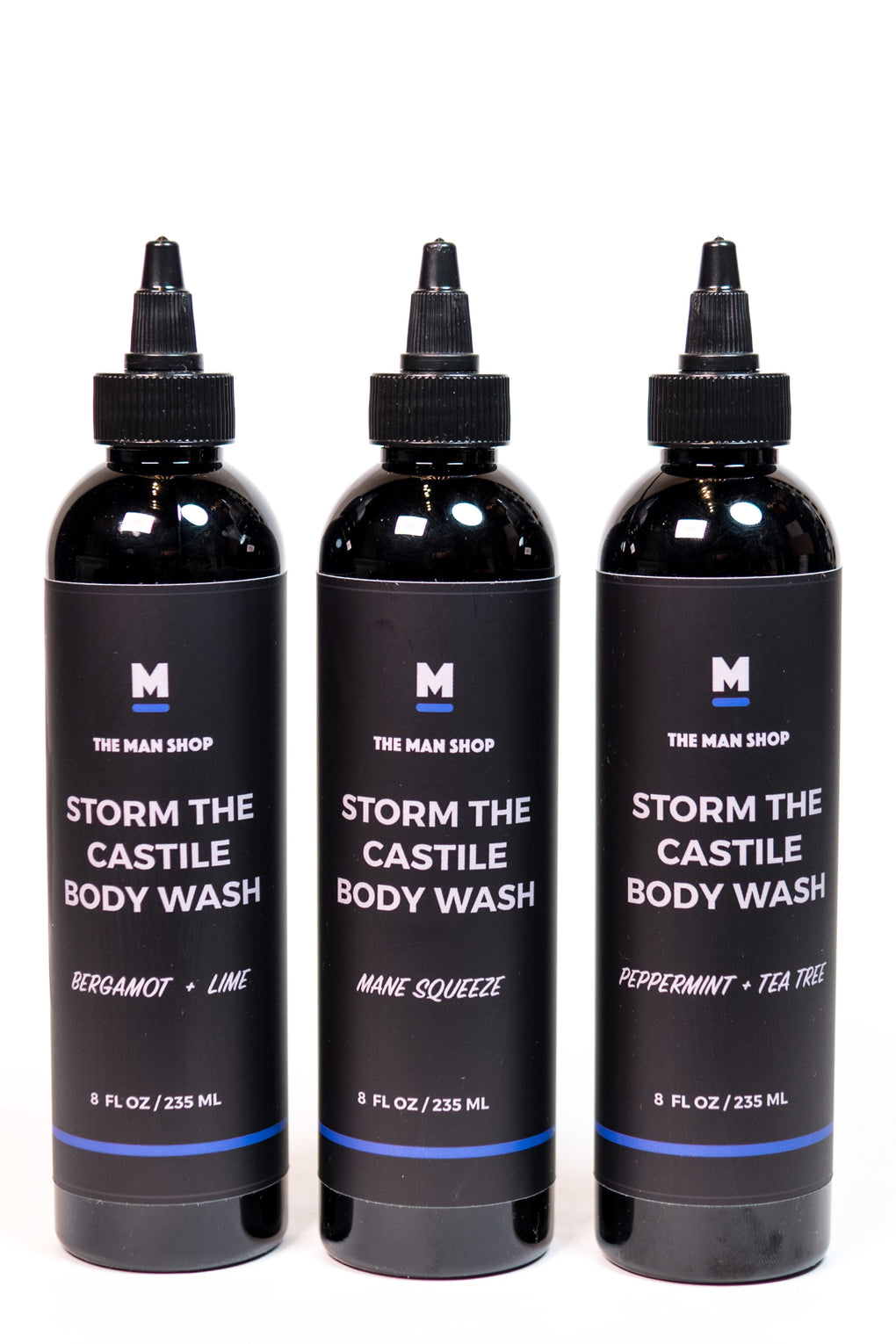 MANE SQUEEZE STORM THE CASTILE BODY WASH