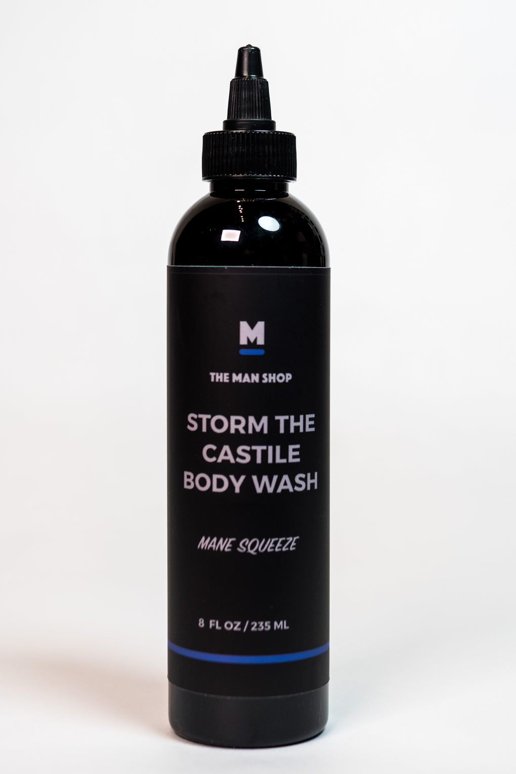 The Man Shop Mane Squeeze Storm the Castile Body Wash at Consigliere
