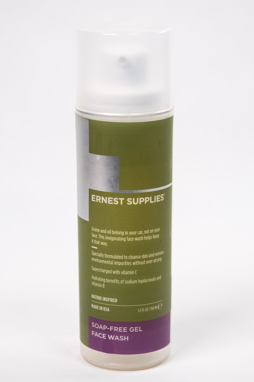 Ernest Supplies Soap-Free Face Wash at Consigliere