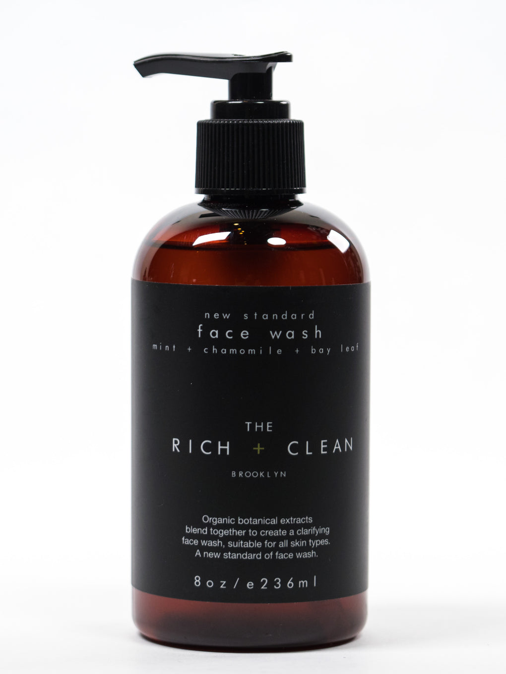 The Rich & Clean New Standard Face Wash at Consigliere