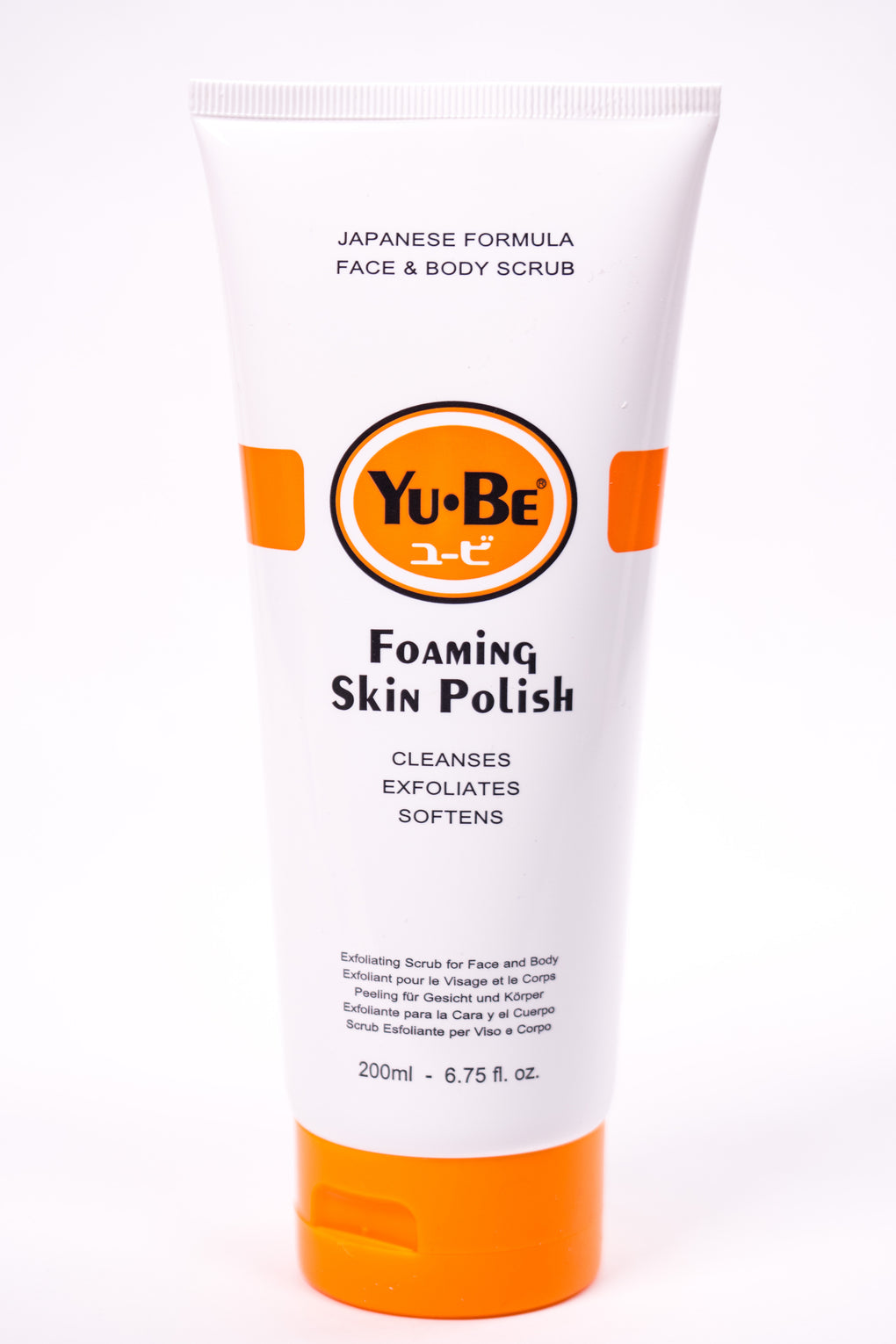 Yu-Be Foaming Skin Polish at Consigliere