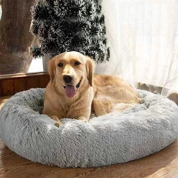 (LAST DAY PROMOTION, 58% OFF) COMFY CALMING DOG/CAT BED