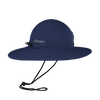 Unisex Wide Brim Fishing Sun Hat Navy