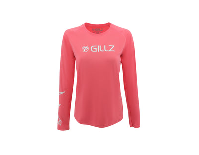Gillz Women's Sun Defender Long Sleeve Fishing Shirt - Flying Tarpoon