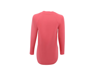 Women's SeaBreeze Long Sleeve Fishing Shirt - Coral