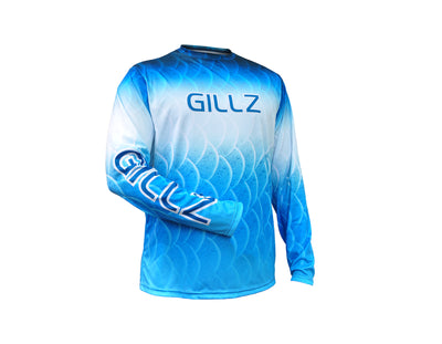 Gillz ExtremeGillz Blue Scale