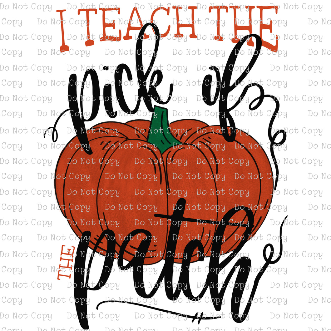 Pick of the Patch / I Teach - DIGITAL