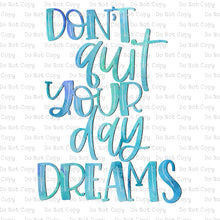 Don't quit your day dream #K-199 - HEAT TRANSFER