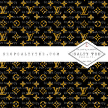 Load image into Gallery viewer, DESIGNER STAMPED LV #BTS2-145 - SHEET VINYL