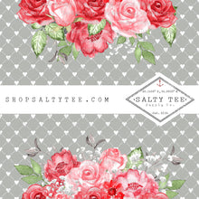 Load image into Gallery viewer, FLORAL ON TOP GREY  #BTS2- 194 - SHEET VINYL
