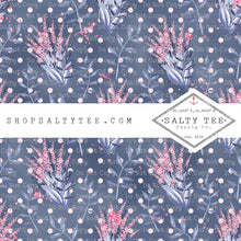 Load image into Gallery viewer, POLKA DOT FLORAL #BTS2- 66 - SHEET VINYL