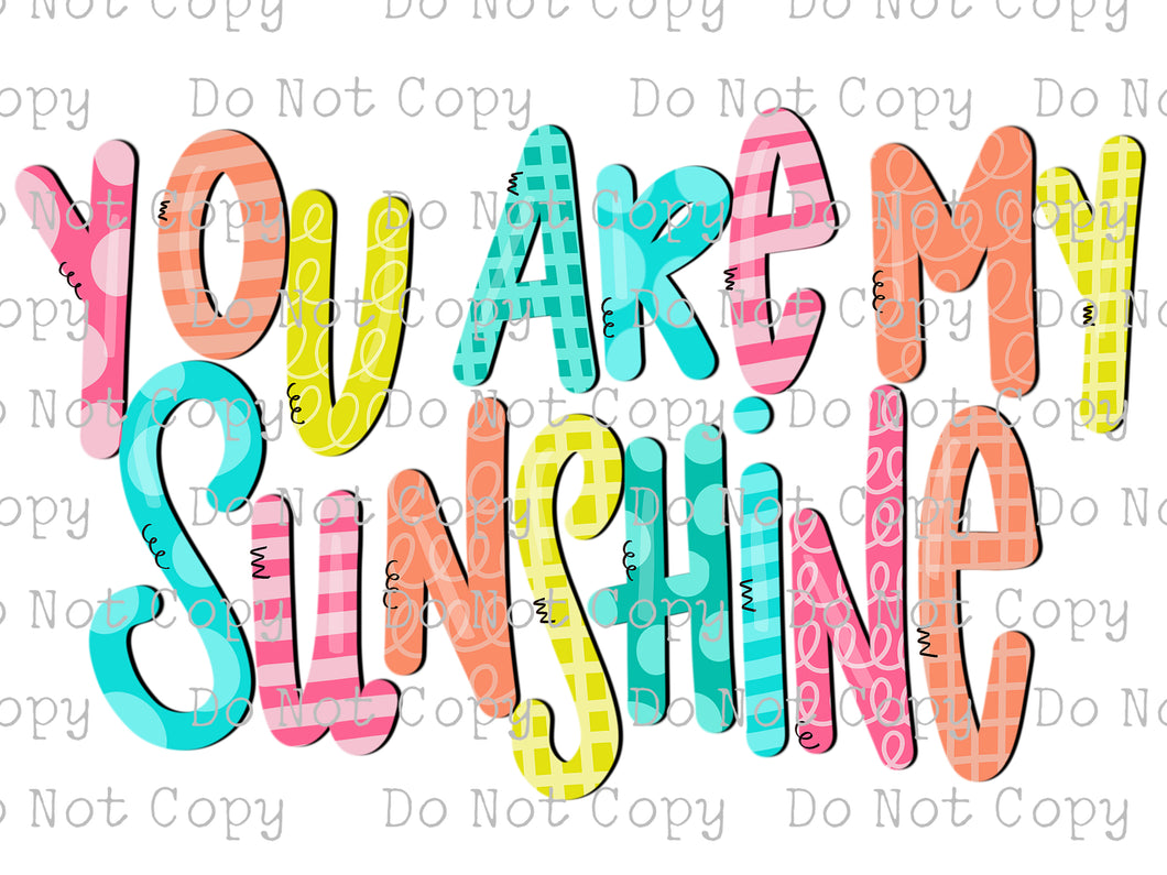 You are my Sunshine #SB-191 - HEAT TRANSFER
