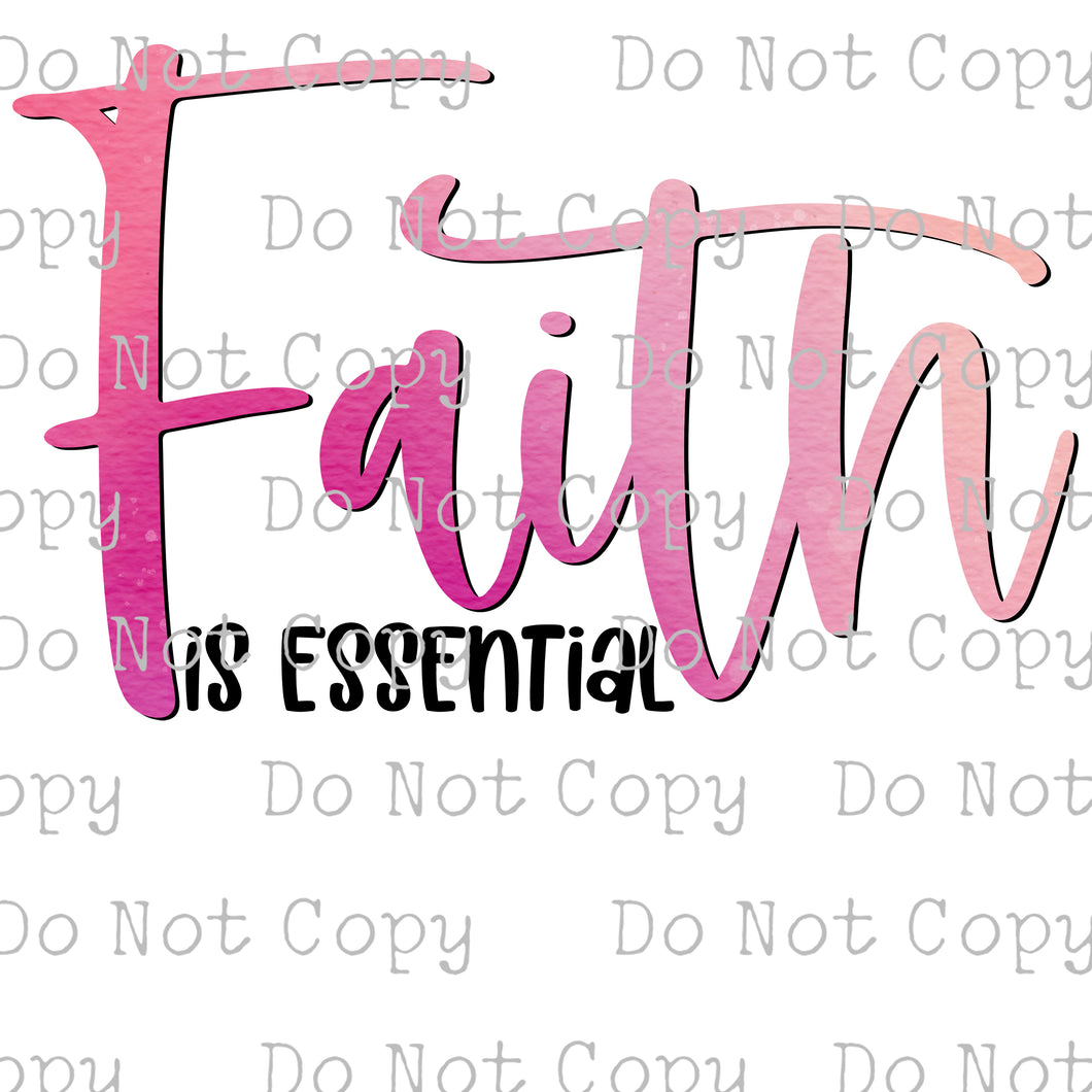 Faith is Essential #SB-198 - HEAT TRANSFER