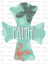 Faith Cross #SB-199 - HEAT TRANSFER
