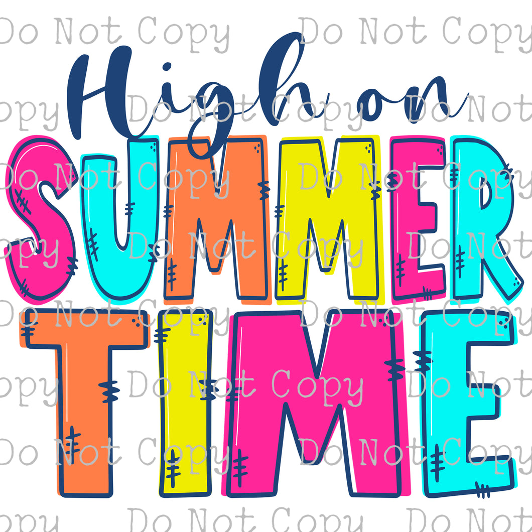 High on Summer Time #SB-268 - HEAT TRANSFER