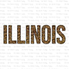 Illinois Cheetah Print #SB-297 - HEAT TRANSFER