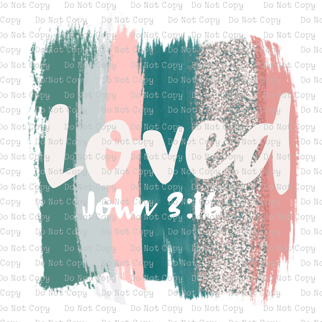 Loved John 3:16 #SB-395 - HEAT TRANSFER
