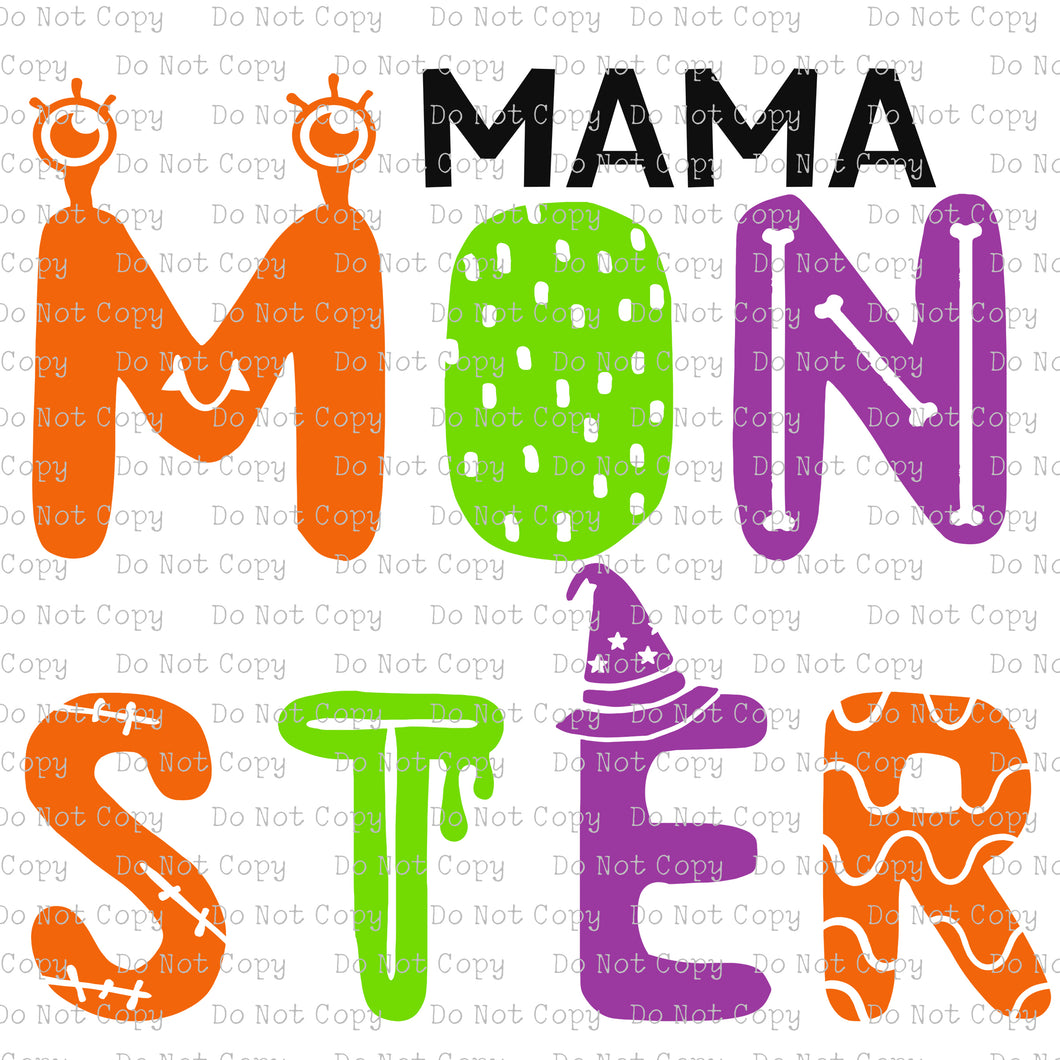 Mama Monster #SB-439 - HEAT TRANSFER